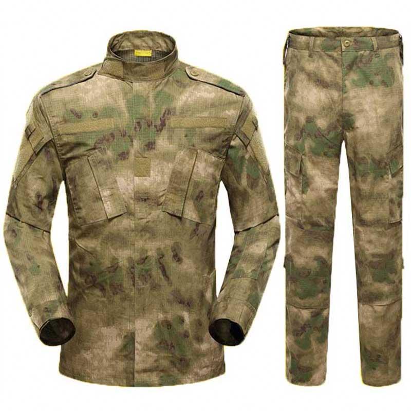 Uniforme de Camouflage militaire formation de chasse en plein air Camo vêtements Sniper Combat Ghillie costume