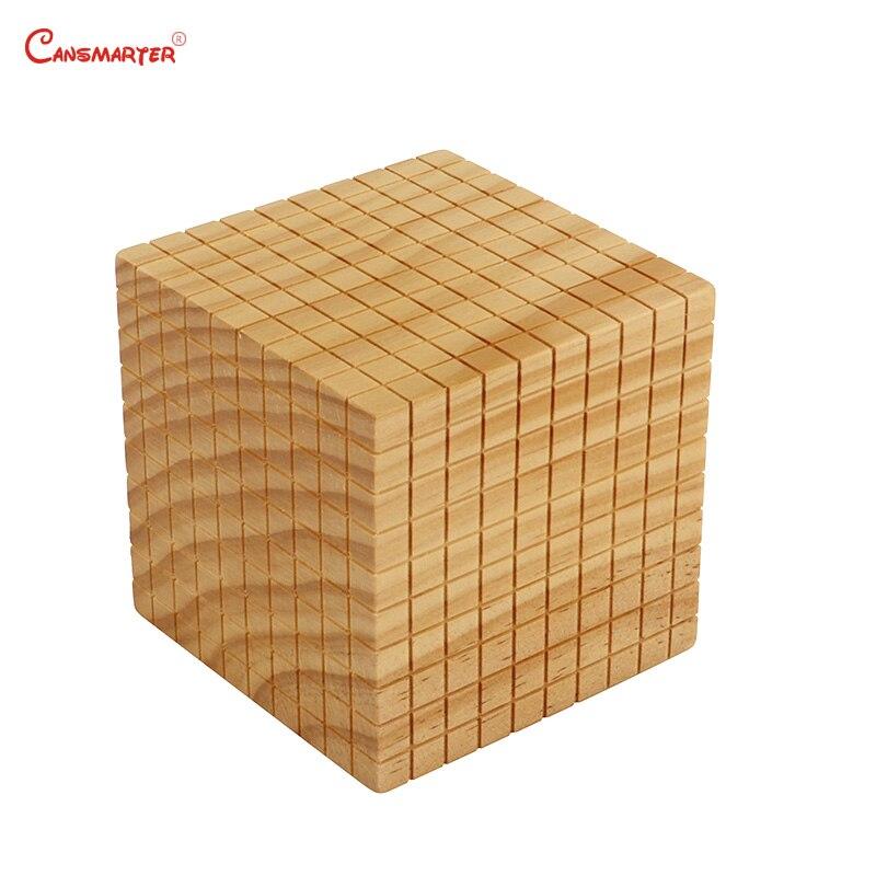 Juguetes de matemáticas diez bases, caja de madera Montessori profesional Montessori, juguetes educativos para estudiantes, juguetes para niños MA085 - 6