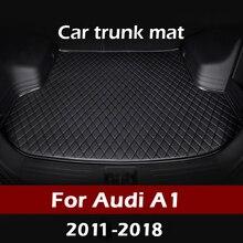 MIDOON รถ Trunk สำหรับ Audi A1 2011 2012 2013 2014 2015 2016 2017 2018 Cargo Liner พรมภายในอุปกรณ์เสริมฝาครอบ