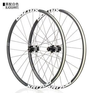Image 5 - KOOZER XR1700 MTB Mountain Bike 26 27.5inch Wheelset 6 Claw Sealed Bearing QR Thru axis Bicycle Disc Braake Wheels DT Spoke 24H