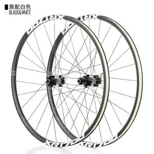Image 5 - KOOZER XR1700 juego de ruedas para bicicleta de montaña, 26 y 27,5 pulgadas, rodamiento sellado de 6 garras, disco de bicicleta de eje pasante QR, radios DT 24H