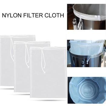 Wielokrotnego użytku nylonowy filtr do piwa do domowego wina mleko do kawy i filtry do soków pozostałości ziół do kuchni do jedzenia akcesoria filtracyjne tanie i dobre opinie CN (pochodzenie) Filtry lejki i Imbryk Food grade nylon Nylon filter bag Beer Homebrew filter