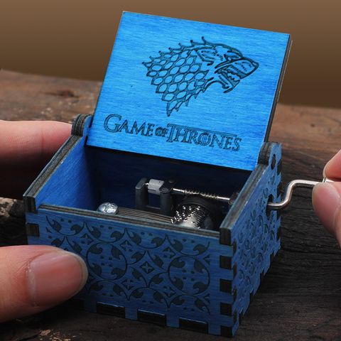 Wooden Music Box Queen HP Castle Inthe Sky Game Of Thrones Island Princess IMAGINE Perfect Christmas Gift Birthday Gift Islamabad