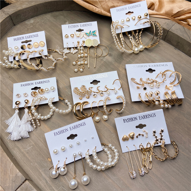 gorgeous multi earring sets 1