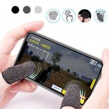 1 пара L1 R1 дышащий мобильный игровой контроллер рукав для пальца сенсорный триггер для Fortnite PUBG мобильный правила выживания Gatillos