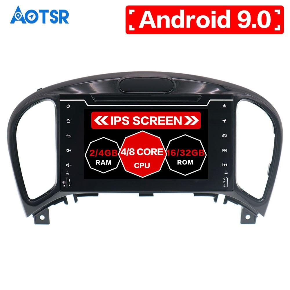 Aotsr Android 9 GPS navigation voiture lecteur DVD pour Nissan Juke pour Infiniti ESQ 2012-2017 lecteur voiture lecteur multimédia voiture jeu vidéo