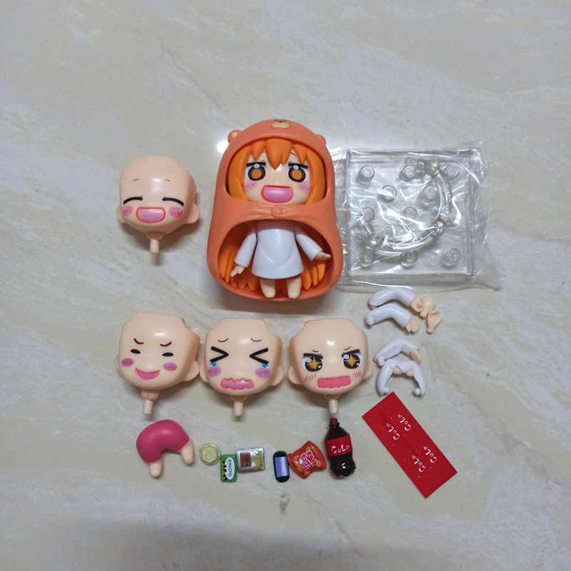 Anime Dia Di Luar Umaru Chan Umaru DOMA PVC Action Figure Collectible Model Boneka Mainan 10 Cm 524 #