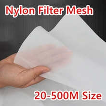 25-830 Micron Food Grade Nylon Filter Wire Mesh 20/30/40/100/200/300/400/500 Woven Mesh Industrial Water Filter Net Tool Parts