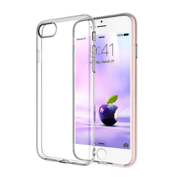 For iphone 6/6S Plus 7Plus 8 Plus Protection Case Clear TPU Soft Gel Cover Phone Shell Case Shockproof TPU Clear Cover image