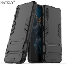 For Huawei Honor 9X Pro Case Rubber Robot Armor Shell Hard Back Phone Cover for
