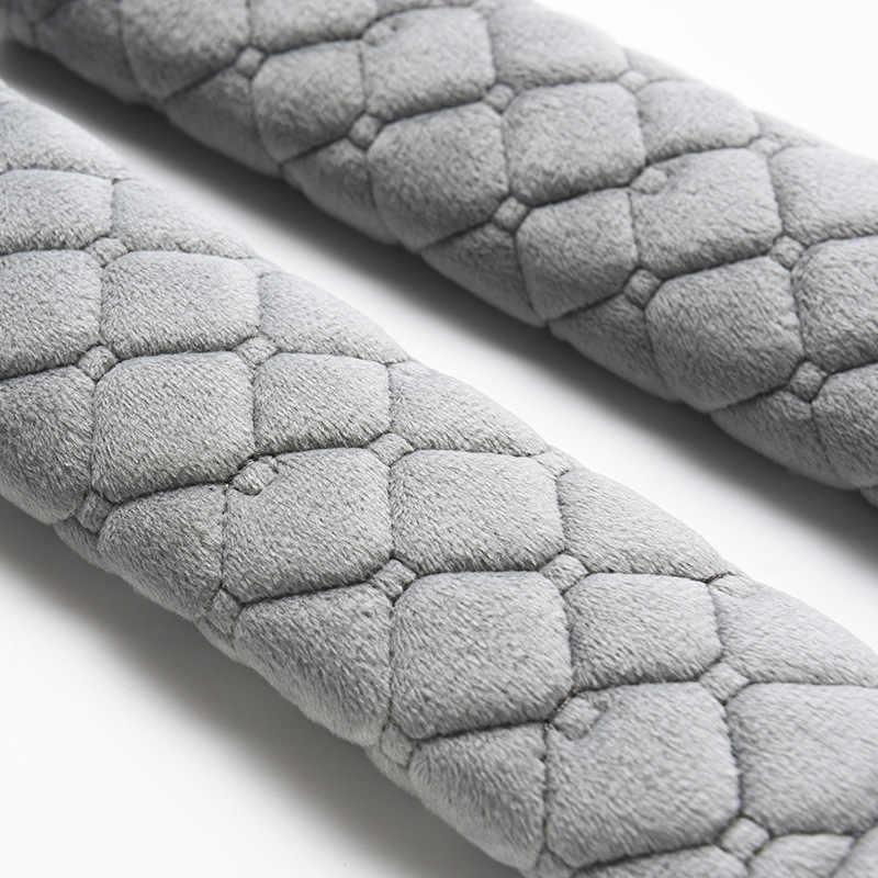 1 pçs cinto de segurança cobre macio veludo almofada de ombro carro caminhão suv avião carmera mochila cintas para adultos crianças jovens