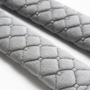 Image 4 - Housses de ceinture de siège en velours doux