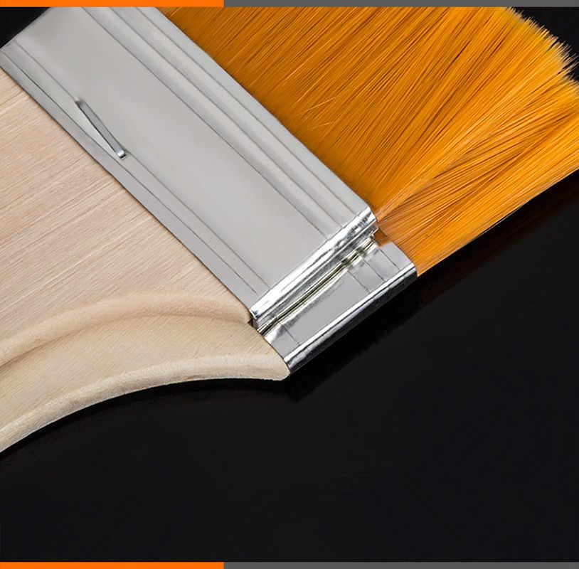 ניילון שיער ציור שמן מברשת צבעי מים מים אבקת פרופילן אקריליק Differeent גודל צבע מברשות ספר אמנות אספקת