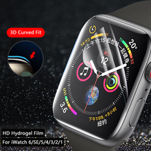 Screen Protector Clear Full Protective Film for iWatch 4 5 6 SE 40MM 44MM Not Tempered Glass for Apple Watch 3 2 1 38MM 42MM cheap CN(Origin) Ultra-thin Hydrogel Film for iwatch screen protector Screen protector for apple watch for apple watch 44mm protector