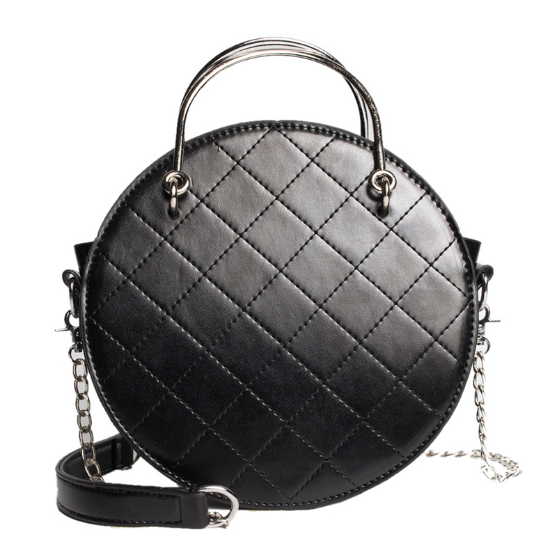 Women Bags Hand-Bag Ladies Chain-Style Designer New for Sac Round
