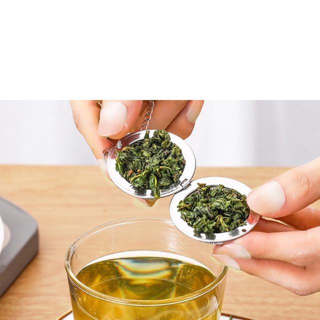 Infuseur à thé en acier inoxydable, 5 tailles 4
