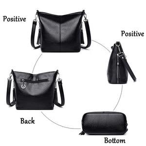 Image 5 - Женские ручные сумки через плечо для женщин 2020 роскошные сумки женские кожаные сумки через плечо сумка тоут дизайнерская женская сумка bolsa feminina