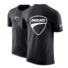 Verão ducati logotipo 2021 homem personalizar t camisa confortável cor sólida unisex algodão hip hop moda topos alta rua casualtees