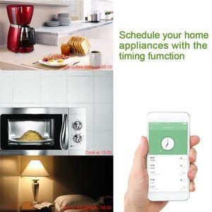 Image 5 - Mini Wifi Smart Plug Outlet Werken met Alexa, Google Thuis, 2.4G Wifi Alleen, geen Hub Nodig, (4 Pack)