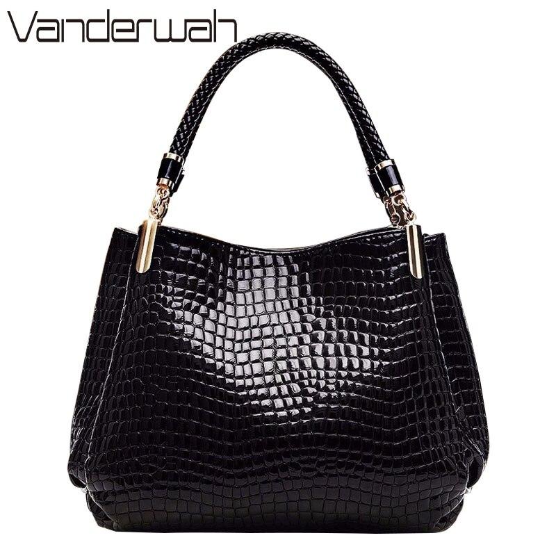 Hot Sac Alligator Bags Luxury Handbags Women Bags Designer Handbags Crocodile Sequined Ladies Shoulder Hand Bags For Women 2019