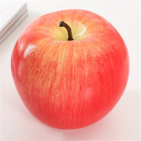 Искусственные фрукты поддельные пенные фрукты имитационная модель орнамент для домашнего интерьера Свадебные украшения Ремесло фотографии реквизит - Цвет: apple