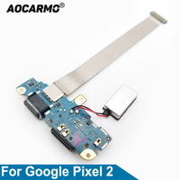 Aocarmo USB Type C Charger Dock Charging Port Connector Flex Cable For Google Pixel 2
