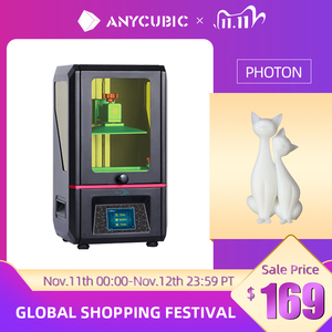 Image 1 - ANYCUBIC Photon SLA 3D Printer UV Resin 2K LCD 3D Printers Off Line Printing Impresora 3d drucker Printer Kit