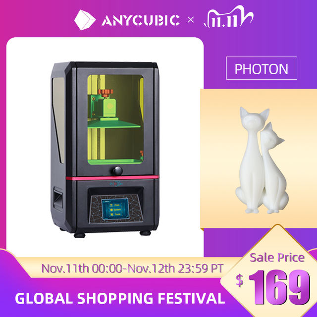 ANYCUBIC Photon SLA 3D Printer UV Resin 2K LCD 3D Printers Off Line Printing Impresora 3d drucker Printer Kit
