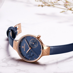 Image 5 - นาฬิกาผู้หญิงหรูหรา NAVIFORCE แบรนด์แฟชั่นควอตซ์ LADIES Rhinestone นาฬิกานาฬิกาข้อมือนาฬิกาสีฟ้านาฬิกา Relogio Feminino