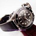 Часы Corgeut Miyota 20ATM  41 мм  часы с черным циферблатом  золотыми стрелками  черная вставка  Безель  сапфировое стекло  автоматическое движение  муж...
