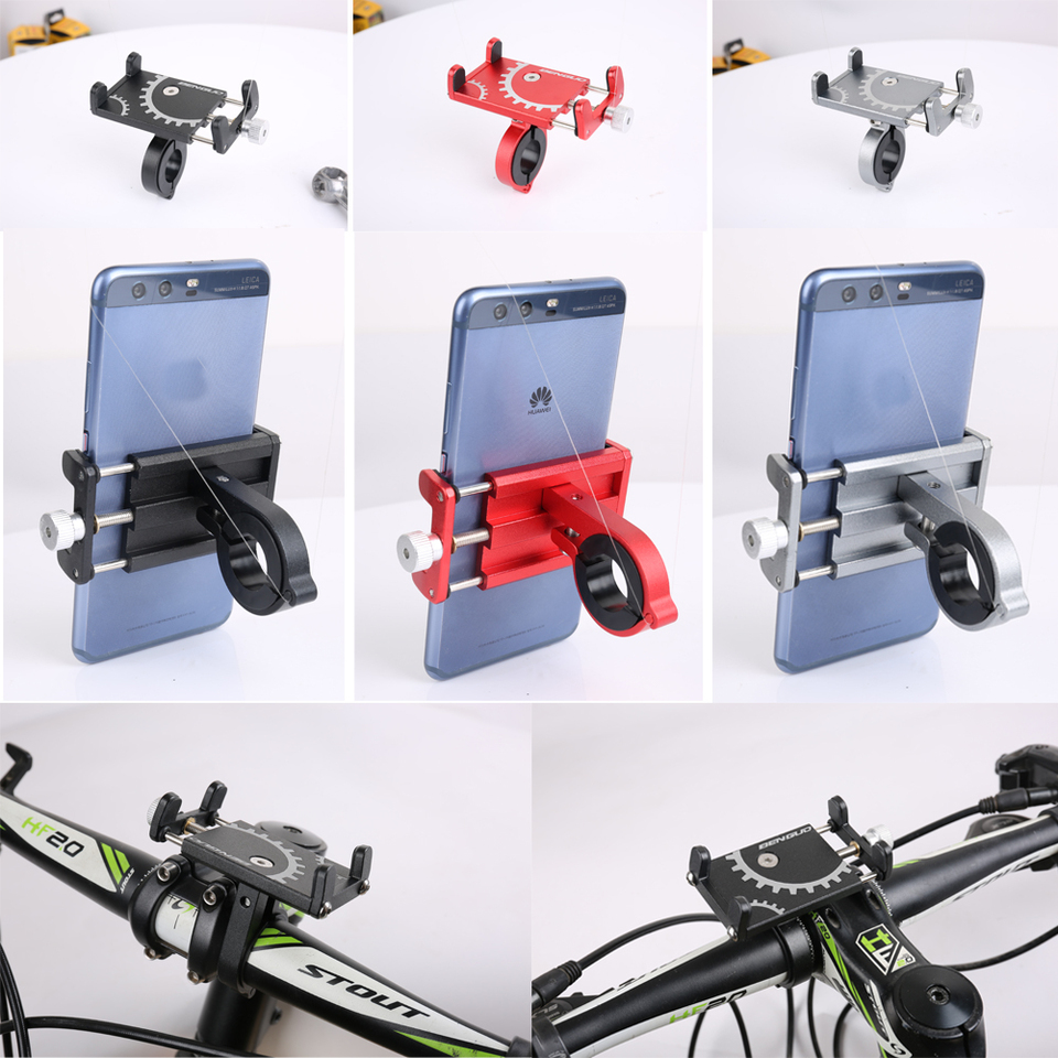 Bike Scooter Bracket Universal 360/° Degree Rotation Kee nso Motorcycle Phone Holder