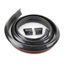 1,5 M Auto Styling 5D Carbon Fiber Spoiler DIY Refit Spoiler Für Mercedes Benz A180 A200 A260 W203 W210 w211 AMG W204 C E S CLS