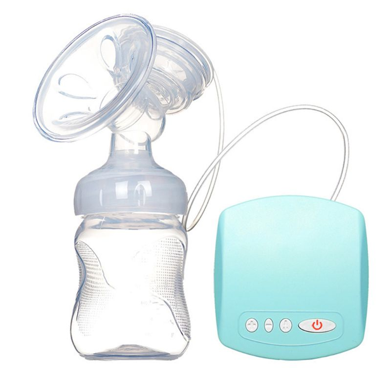 1 Set Electric Breast Pump Pumping Milk Suction Large Automatic Massage Postpartum Non-manual Pumps Mom Supplies