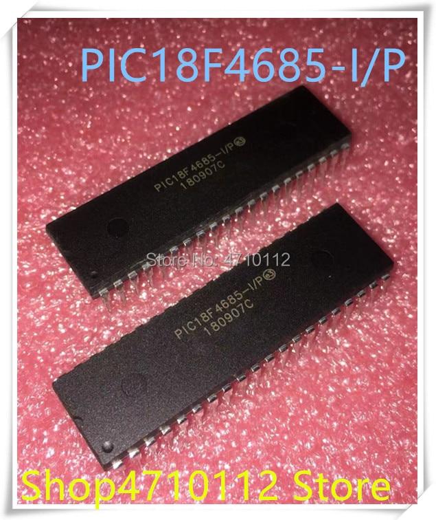 NEW 5PCS/LOT PIC18F4685-I/P PIC18F4685 DIP-40 IC