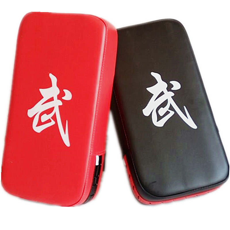 1 Pcs Boxing Pad Sand Bag Fitness Taekwondo Hand Kicking Pad PU Leather Training Gear Muay Thai Foot Target