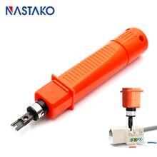 RJ45 רשת כבל השפעה keystone כלים מודול הוספת בלוק אגרוף למטה כלי 110 סוג תיקון פנל חיבור לחתוך כלי