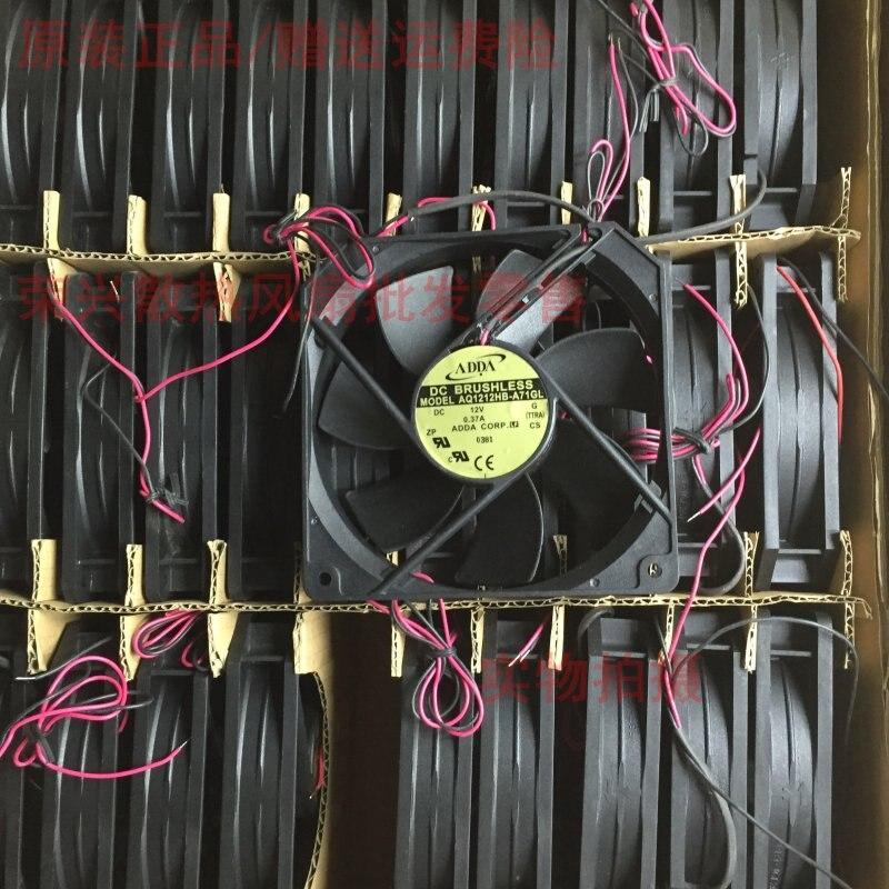 Waterproof Cooling Fan IP68 For ADDA AQ1212HB-A71GL DC 12V 0.37A 120x120X25mm Server Cooling Fan