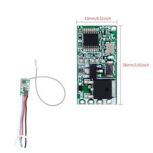Image 5 - Rubrum Interruptor de Control remoto inalámbrico Universal, 433 Mhz, CC, 3,6 V 24V, 433 Mhz, 1 CH, receptor de relé RF, Kit de Controlador de luz LED