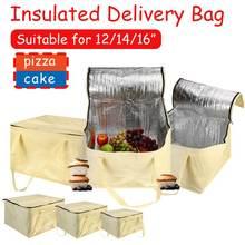 Bag Cooler-Bag Pizza-Delivery Food Picnic Large Portable