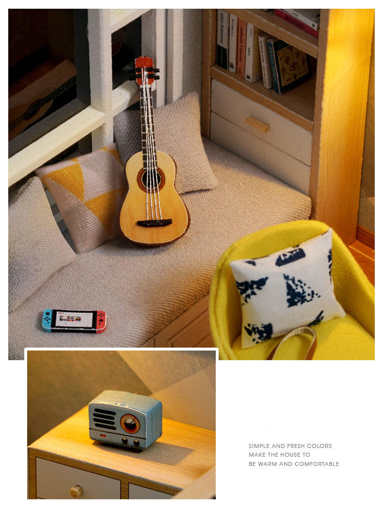 Hd82253ab698c4996bf2eb629866923eb5 - Robotime - DIY Models, DIY Miniature Houses, 3d Wooden Puzzle