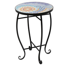 Mosaic Stained Glass Sun Surface Flower Stand(China)