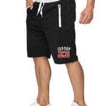 Striped Shorts Men Fashion Zipper Gyms Workout Jogger Sweatp