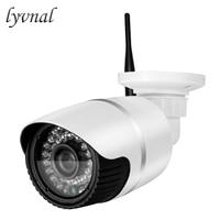 Lyvnal 2mp câmera wi fi cctv 1080 p câmera de vigilância sem fio com slot para cartão sd p2p onvif ao ar livre hd 720p wi fi câmera|Câmeras de vigilância| |  -
