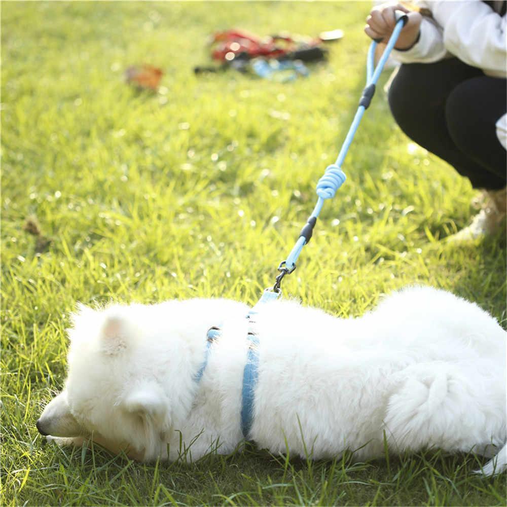 7 Màu Dây Xích Chó Kéo Dây Thú Cưng Dây Đai Yếm Nhỏ Và Chó Lớn Kéo Có Thể Điều Chỉnh Dây Xích Chó Áo Vest Cổ Điển chạy Dây Xích