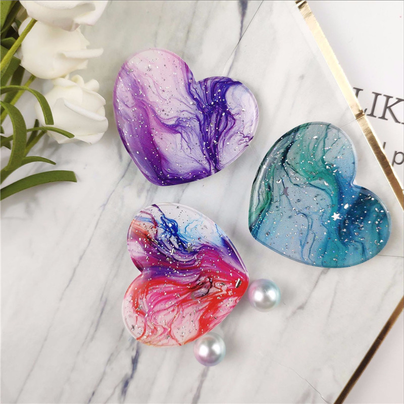 Painted Epoxy Phone Handle Holder Phone Extension Stand Phone Finger Ring Stand For IPhone X XS 8 Xiaomi Redmi