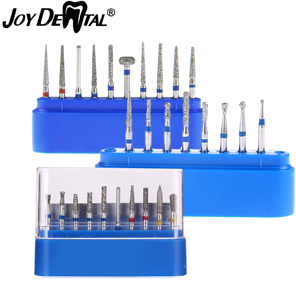 Dental Diamond Burs Drill For High Speed Handpiece Dentist Burs FG Series Dia.1.6mm