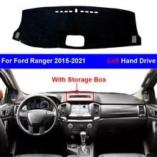 Dashboard-Cover Ford Ranger Carpet Dash-Mat RHD LHD Pad-Protector