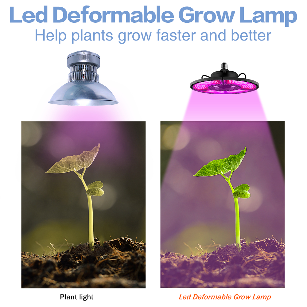 lowest price LED Plant Grow Light Bulb E27 Full Spectrum Growing Lamp 290 LEDs 200 LEDs Grow Bulb   4M 8M Switch Line for Greenhouse Plants