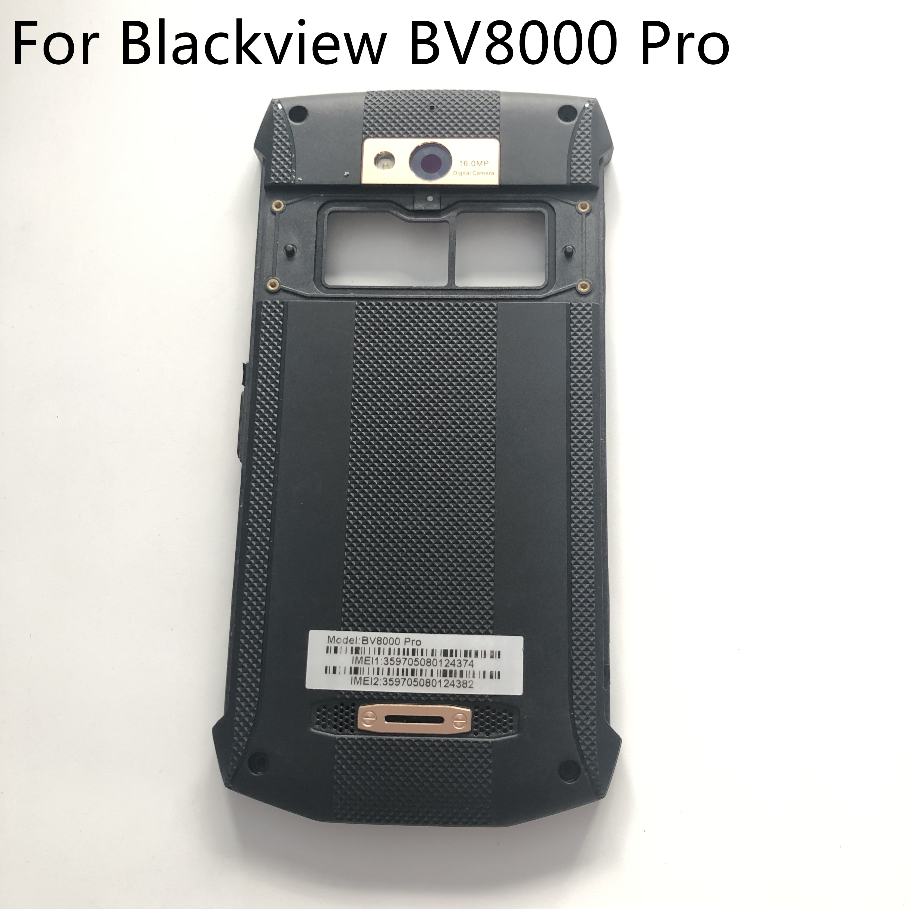 Blackview BV8000 Pro New Original Protective Battery Case Cover Back Shell For MT6757 5.0 Inch Smartphone