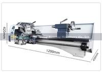 WM210L Metal Lathe/850W Brushless Motor All Steel Gear Lathe/800mm working length +125mm Chuck Mini Lathe Machine